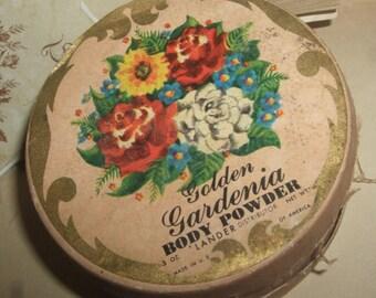 Vintage Gardenia Body Powder
