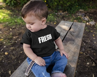 FRESH | Funny Saying Kids Shirt | Fresh Kids Tshirt | Multiple Colors