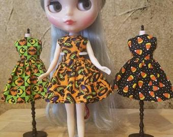Blythe Halloween Dress - Witch Hat