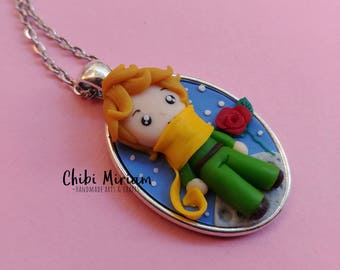 Little Prince fimo necklace