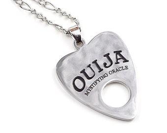 COLLIER DE PLANCHETTE DE OUIJA | occultes | sorcellerie | mystificateur oracle | spirituelle | bijoux | Pendentif | collier de planchette d'Ouija board