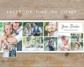Facebook Timeline Cover - timeline cover template - Facebook Wedding Photography Timeline Cover - timeline template