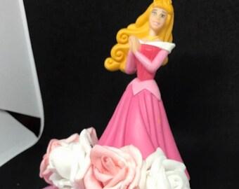 Disney sleeping beauty pink hair fascinator