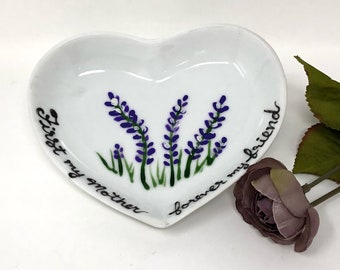Mother's Day Gift - First My Mom - Forever My Friend - Ring Dish Gift