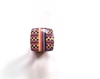 small polymer clay ring