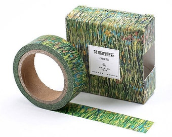 Van Gogh Patch Of Grass inspired Washi Tape