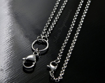 Locket Chain Upgrade / Rolo Chain / Floating Locket Chain / Living Locket Chain