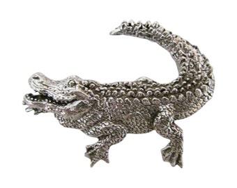 Premium Alligator ~ Lapel Pin/Brooch ~ A070PR,AC070PR,AP070PR