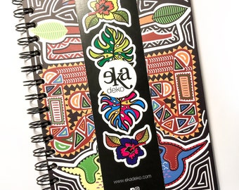 Spiral notebook Ekadeko