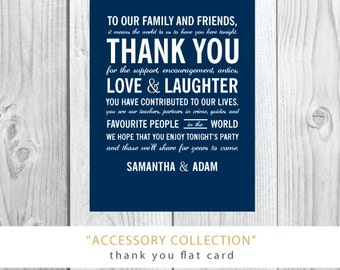 Accessory Collection Thank You Cards