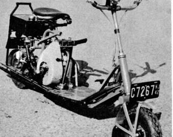 Vintage scooter plans