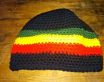 adult rostafarian hat