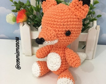 Amigurumi Pattern in PDF, THE FOX