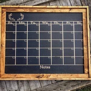 Farmhouse Chalkboard Calendar