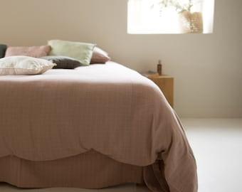 adult or junior duvet cover made of organic cotton