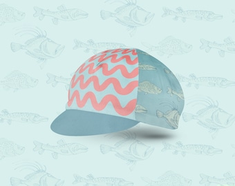 Custom designed cycling cap - Fishy - Rune-Creative - Original caps - Hipster