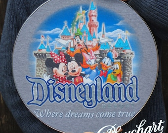 Disney Resort mounted t-shirt