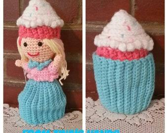 Topsy Turvy Crochet Cupcake Doll