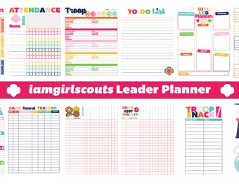 iamstrawjenberry Girl Scout Leader Troop Planner