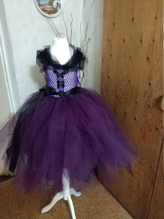 Witch Halloween Costume.Witch Tutu Dress.Halloween Witch Women