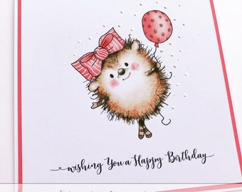 Wishing You A Happy Birthday / Handmade Card