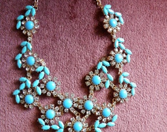 Beautiful Old Hollywood Glitz and Glam Necklace