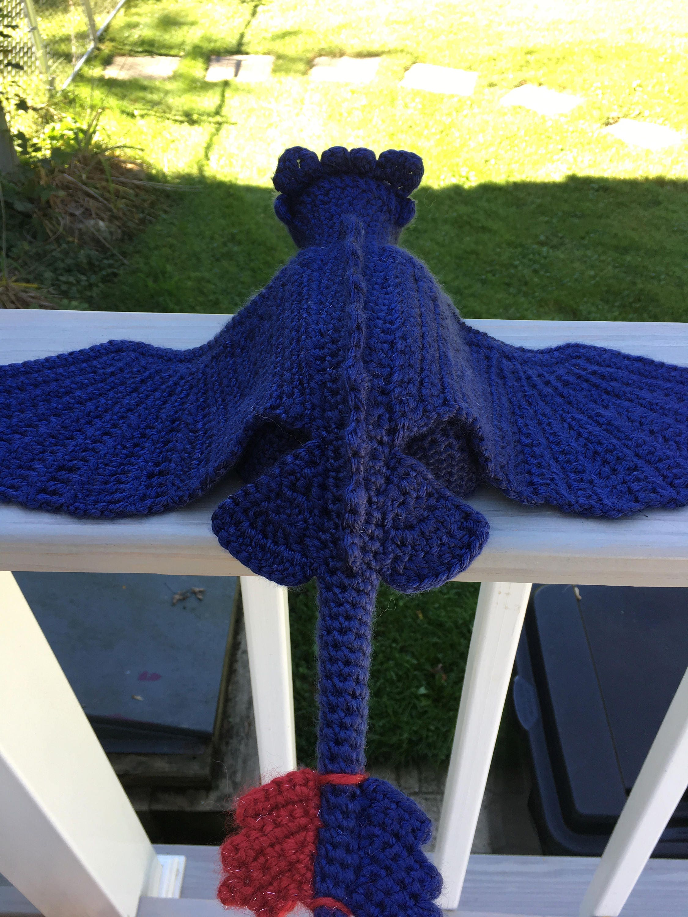 Toothless - Night Fury Crochet Pattern, How to Train Your Dragon da ...