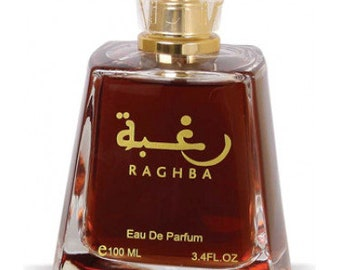 Raghba Lattafa Perfumes for women and men eau de parfum 100 ml