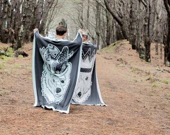Toddler / Childrens  Fox Blanket