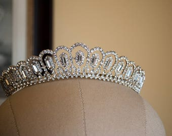 Lexington Tiara, Wedding Tiara, Bridal Tiara