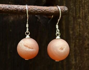 Druzy drop earrings, Druzy earrings, Silver druzy earrings, Drusy earrings, Agate druzy earrings, Druzy quartz earrings, Druzy jewelry.