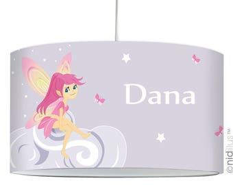 "Pendant lamp ""Fairy pink cloud"""