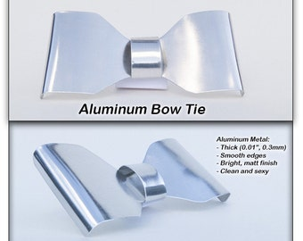 Metal Wire Neck Bow Tie
