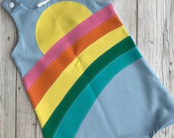 Rainbow shortie