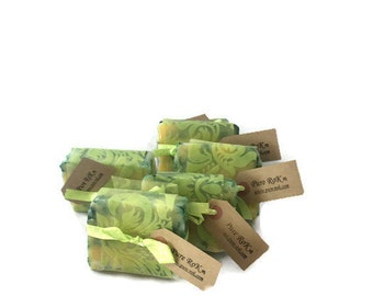 Natural Soap bar, Essential oil soap, Mint soap, Grapefruit soap, Handmade soap, gentle soap, Face soap, Gift soap, wedding favours, gifts
