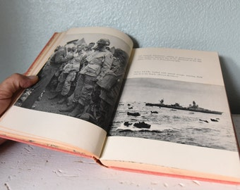 Vintage Story of D Day book - 1956