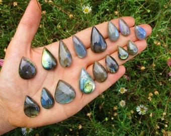 Custom Labradorite Ring / Sterling Silver Ring / Labradorite Statement Ring / Silver Labradorite / Large Labradorite / Labradorite Jewelry