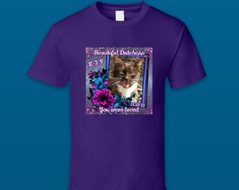 Custom Designed Pet Memorial  T Shirts