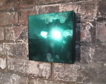 Green Art, Green Wall Decor, Chrome Decor, Wall Art, Wall Collection