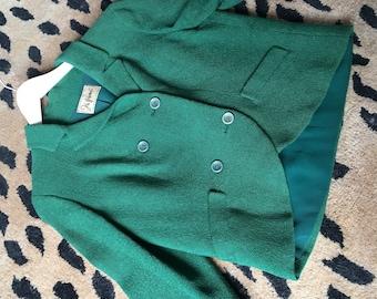 Vibtage green blazer