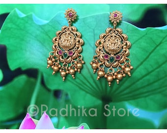 Lotus Goddess Earrings