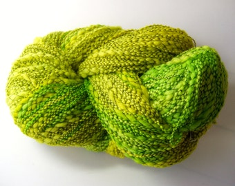 Wool Boucle - Lime Marguerita