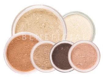 Mineral Makeup Kit   8pc SUMMER GLOW   Natural Makeup Set
