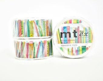 MT Ex livres Washi Tape, MT Masking Tape