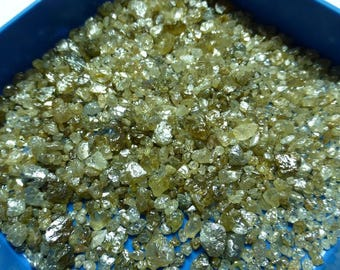 1 To 5 carat natural raw rough uncut diamonds 1.50 to 2.50 mm size for sale