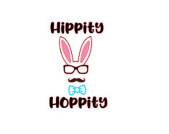 Hippity Hoppity SVG
