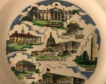 District of Columbia Sabin Collector's Plate