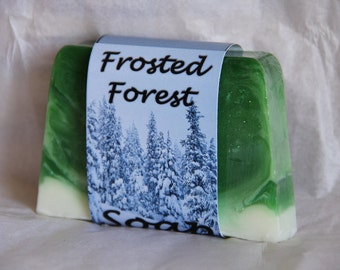 Frosted Forest Soap