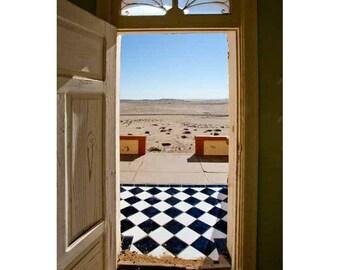 Desert view fine art print