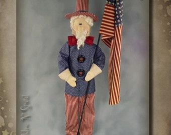 Pattern: Uncle Sam by Sparkles N Spirit